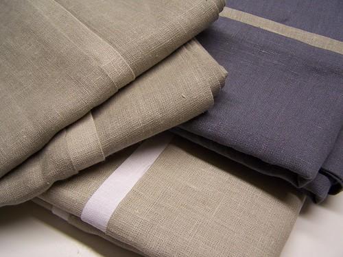sand & fog & mist color linen pillowcases