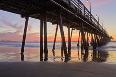 The Pier (x-ray tech) Tags: california longexposure light sunset sky beach water beautiful clouds reflections spectacular pier interestingness amazing nice interesting twilight sand colorful sandiego superb dusk tripod explore pacificocean hdr imperialbeach coronadoislands photomatix canonefs1755mmf28isusm canoneosrebelt1i tripleniceshot mygearandmegold adobephotoshopcs5 tplringexcellence artistoftheyearlevel5 payacom