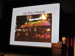 IMG_0605 (jdong) Tags: seattle paris france art downtown sam picasso museums lectures seattleartmuseum discussions lesdeuxmagots doramaar samtalks maryanncaws plestcheeffauditorium