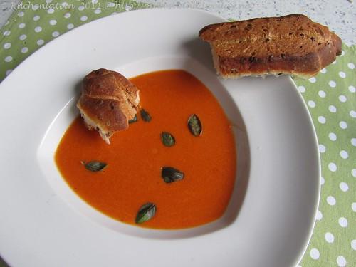 Weißwein-Paprika-Suppe