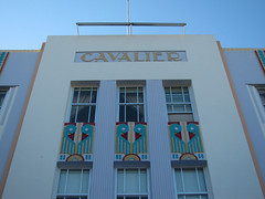 Cavalier Miami (wanderer_by_trade) Tags: city windows sky usa geometric beach architecture hotel design florida miami decorative details curves modernism style artdeco streamlined hotels miamibeach deco southbeach modernist motifs lincolnroad oceandrive aesthetic