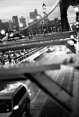 Way of Brooklyn Bridge (Rotdenken (Jules Rigobert)) Tags: city nyc newyorkcity urban blackandwhite bw usa ny newyork america town us photo flickr cityscape foto noiretblanc manhattan ciudad nb stadt sw amerika dreamland ville citt urbain 21stcentury amrique stateofnewyork flickraward schwarzundweis xxiesicle rotdenken julesrigobert