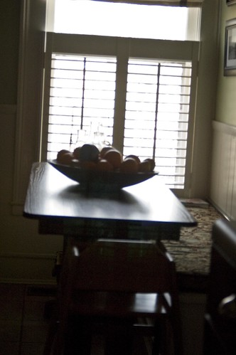 kitchen table silhouette