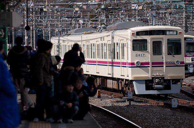 京王電鉄6000系 6416F+6417F 若葉台へ回送