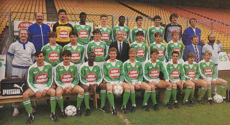 Saint-Etienne 1985-86