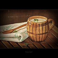 { as simple as it is } (Cornelia Anghel) Tags: wood stilllife cup canon yogurt soulscapes canoneos500d assimpleasitis corneliaanghel corneliaanghelphotography 2011corneliaanghel