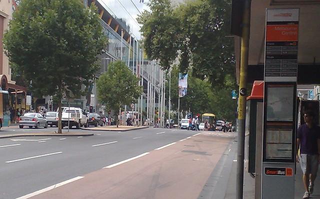 Smartbus stop, Lonsdale Street