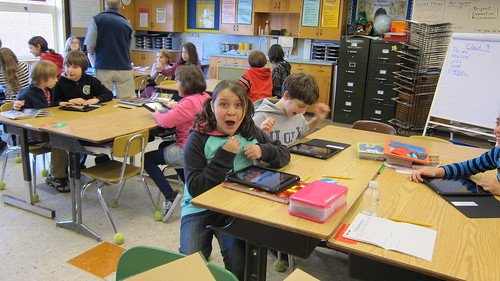 iPads arrive in 4th grade... by timlauer, on Flickr