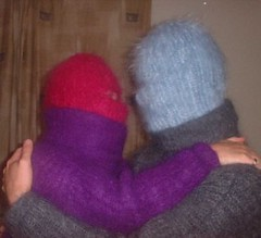 MultiMo_and_mohairbunny (facecover) Tags: sweater mask mohair turtleneck balaclava multimask
