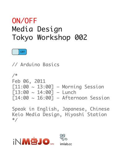 workshop 002 - arduino basics