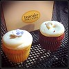 Sweet! (aaronwtong) Tags: cupcakes sweet desserts cropped eastbay helga emeryville squared camerabag teacakebakeshop iphone4
