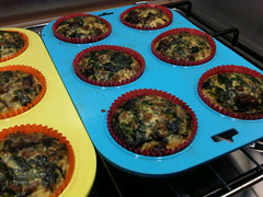 Spinach egg muffins 2