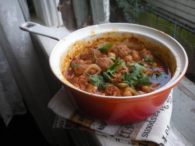 chorizo chickpea stew