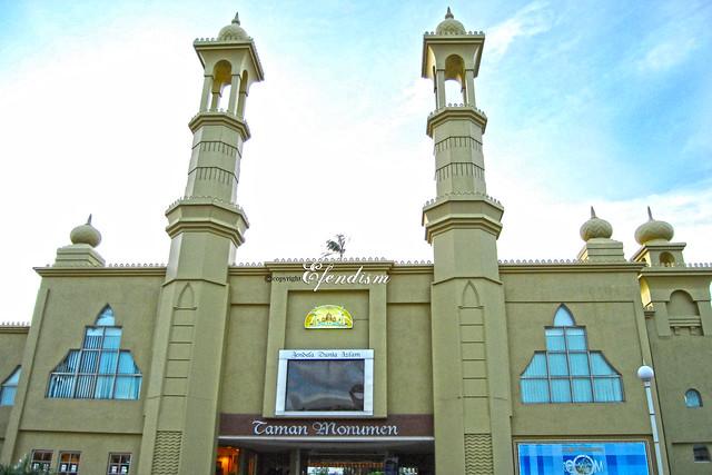 Taman Tamadun Islam Entrance
