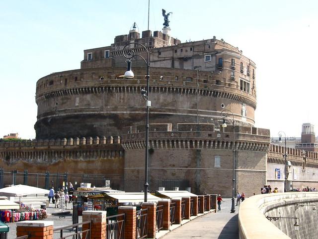 サンタンジェロ城のフリー写真素材