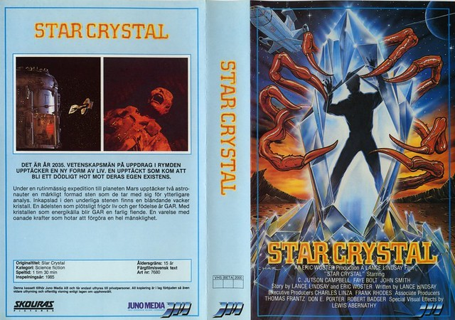 Star Crystal (VHS Box Art)