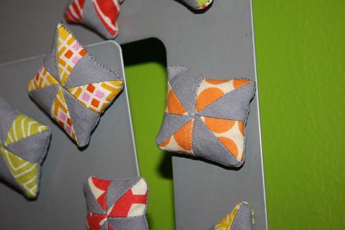 Itty Bitty Pinwheel Magnets
