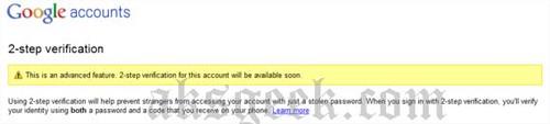 gmail 2step verification