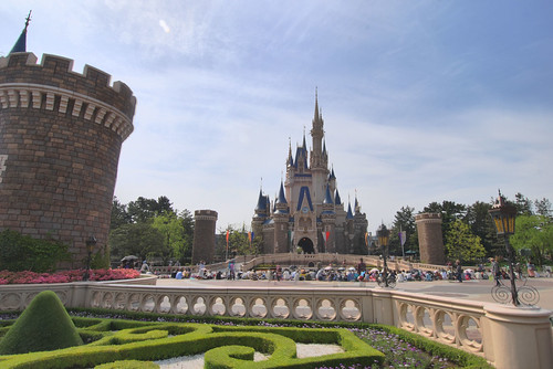 Cinderella's Castle, Tokyo Style