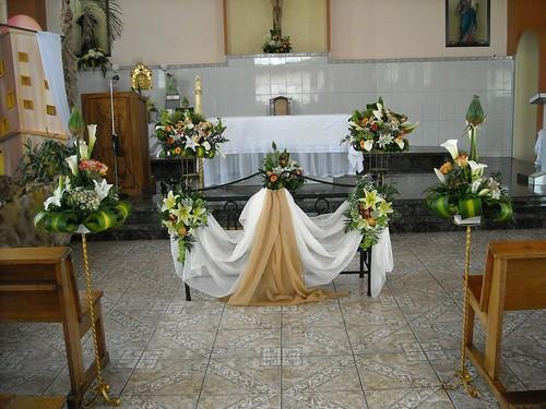 Decoración de Iglesias para matrimonios