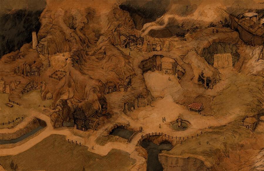 Kuldahar Map