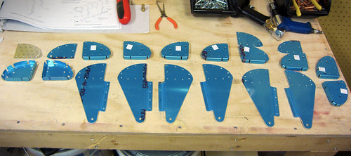 Flap Nose Ribs and Hinge Hangers