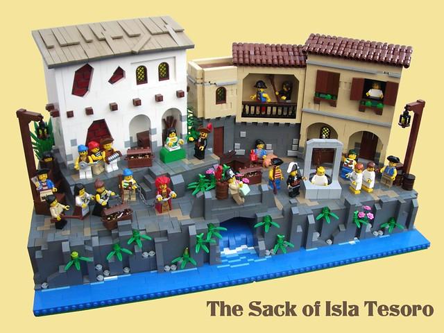 The Sack of Isla Tesoro