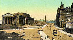 Liverpool - Lime Street Prior to 1911 (pepandtim) Tags: street old anna station liverpool court french greek anne early comic postcard columns montmartre nostalgia actress nostalgic beatles lime mallet pediment 1911 gallows 1790 stgeorgeshall damiens letitbe betjeman 1849 semurenauxois shepton maggiemay assizes judic 86lls47 15041911