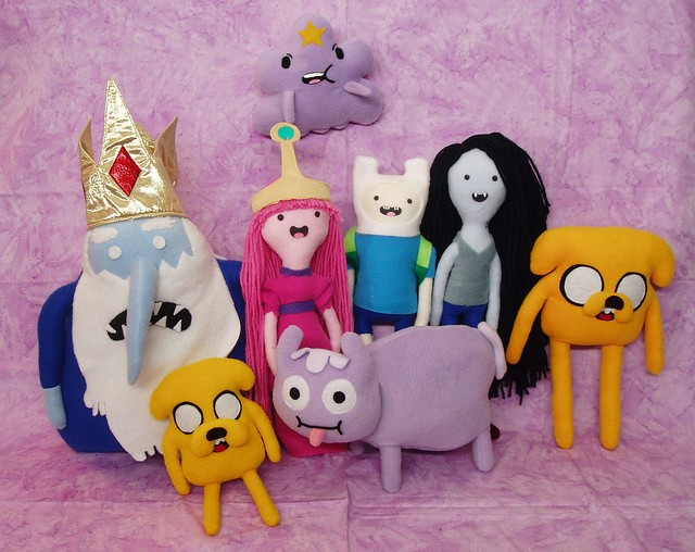 Adventure Time Plush Dolls