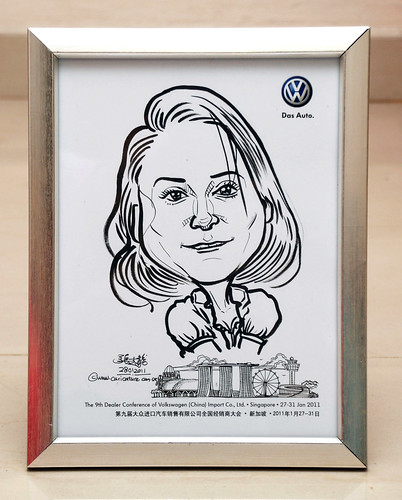 caricatures for Pico Art and Volkswagen - 6