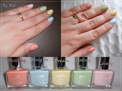 Rainbow nails (Bibi) Tags: rainbow pastel polish nails arcoris unhas p2 ongles vernis esmaltes
