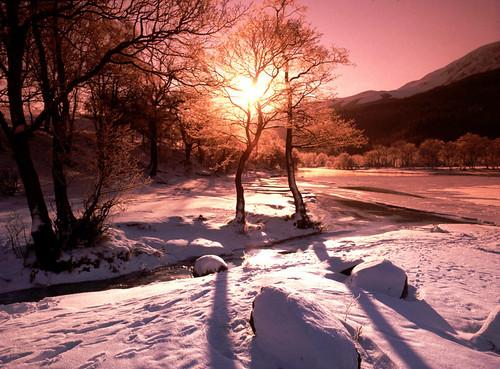 Loch Lubnaig - Winter Scene