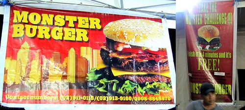 Monster Burger & the Monster Burger Challenge