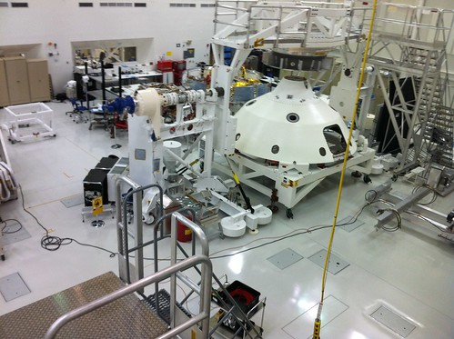 JPL Clean Room: Mars Science Lab I