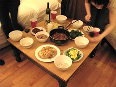 party @ aichen's home (slowpoke_taiwan) Tags: party guy pudding queens homemade astoria homeparty shinyi popovers aichen shilya menglinghsieh