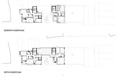 6th and 7th Floor Plans