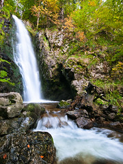 Splash (andywon) Tags: autumn fall nature water colors leaves germany landscape flow waterfall schwarzwald blackforest todtnauberg badenwrttemberg todtnau blackforestwaterfalls gettyimagesgermanyq1