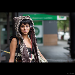 Leopard beats (colinlogan) Tags: street light portrait ex canon project eos 50mm natural f14 strangers sigma 100 60d sigmalux