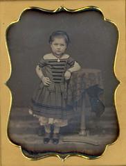 Sassy Girl Daguerreotype (Mirror Image Gallery) Tags: daguerreotype victorianchildren