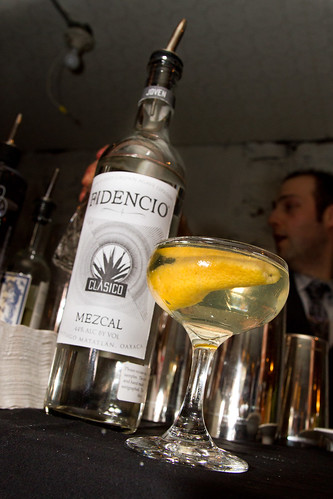 The Señor Bond, featuring Fidencio Clasico Mezcal (not yet available in stores).
