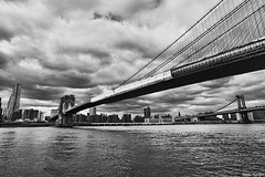 Brooklyn Bridge - New York City 2010 (naldomundim) Tags: new york city nyc newyorkcity bridge usa newyork public nova arquitetura brooklyn america canon river private real design estate realestate manhattan library wide harry biblioteca eua brooklynbridge jersey helmsley l 5d hudsonriver canon5d hudson 16mm naldo arq mark2 amercia 1635mm newyorkpublic mundim naldomundim 5dmark2 gettyimagesbrasil harryhelmsleybuilding