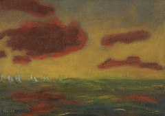 Emil Nolde - Auf Hoher See (On the Hight Sea) (1949)