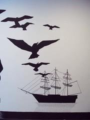 Colston girls school (little_moshi) Tags: seagulls girl freedom ship adventure thesea windblown hilarywagstaff