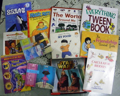 book-sale, scholastic-books