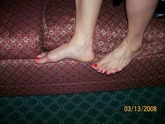 100_0340 (danks11) Tags: sexy feet female arch legs muscular strong calf calves veiny muscularcalves veinyfeet muscularcalf