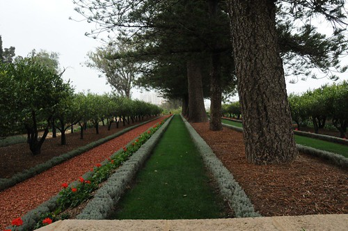 Paths at the Garden of Ridván