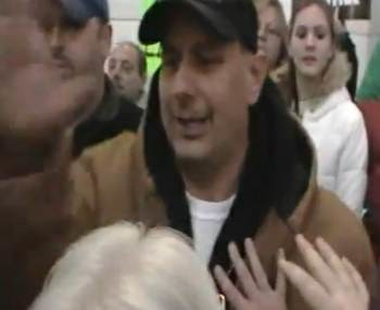 OUTRAGE: Tea Party Thug Assaults Camera Man, Shouts Homophobic Slurs! ALL CAUGHT ON TAPE!
