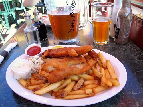 Fish and Chips in Steveston