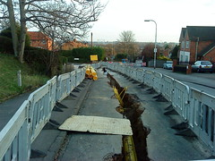 February 24th, 2011 Donkin Hill Roadworks (karenblakeman) Tags: uk roadworks caversham 2011 donkinhill 2011pad