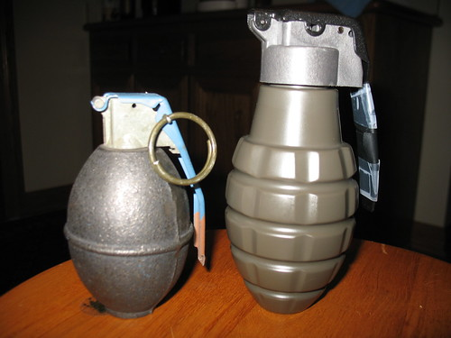 Grenade Shell Pouch to my Real Grenade Shell